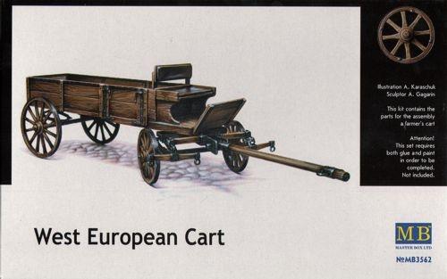 Masterbox *West European Cart* - Scale 1/35 - Masterbox - MBLTD3562
