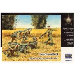 *Counterattack* - Scale 1/35 - Masterbox - MBLTD3563