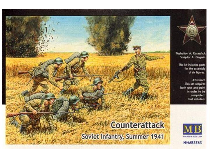 Masterbox *Counterattack* - Scale 1/35 - Masterbox - MBLTD3563