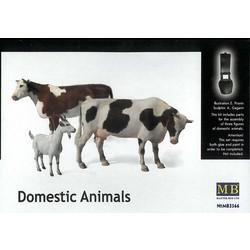 *Domestic Animals* - Scale 1/35 - Masterbox - MBLTD3566