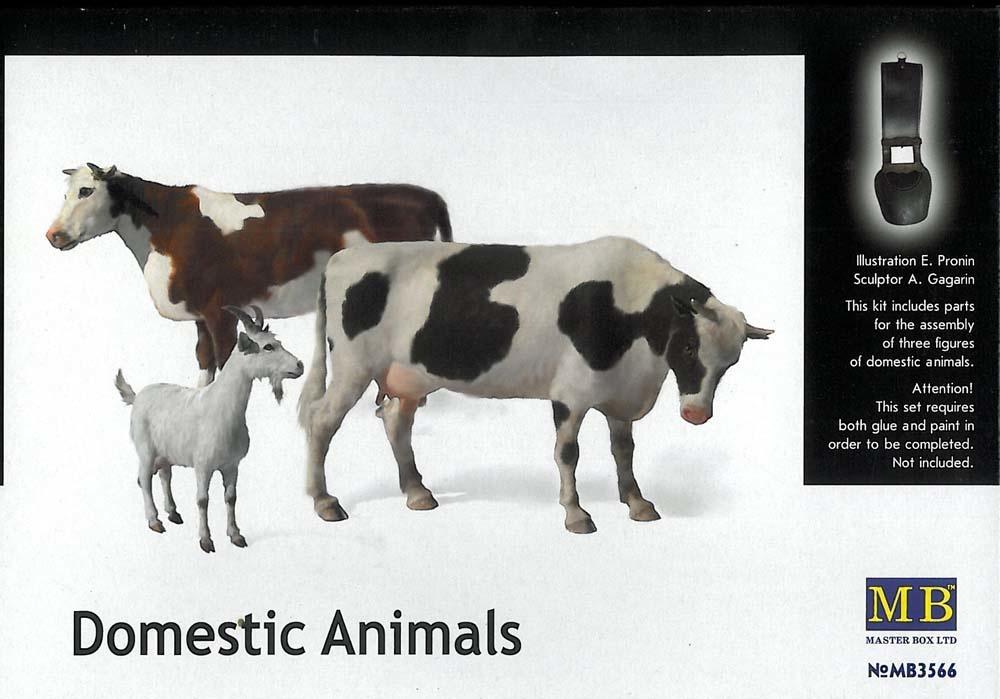 Masterbox *Domestic Animals* - Scale 1/35 - Masterbox - MBLTD3566