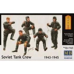 *Soviet Tank Crew, 1943-1945* - Scale 1/35 - Masterbox - MBLTD3568