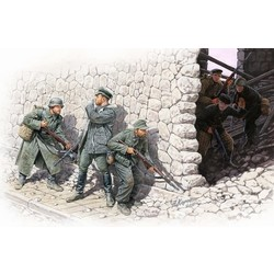 *Who's that?*, German Mountain Troops & Soviet Marines, spring 1943* - Scale 1/35 - Masterbox - MBLTD3571