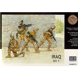 *Iraq events. Kit #1, US Marines* - Scale 1/35 - Masterbox - MBLTD3575