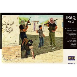 *Iraq events. Kit #2, Insurgence* - Scale 1/35 - Masterbox - MBLTD3576