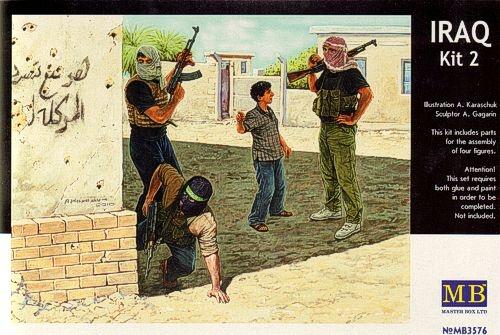 Masterbox *Iraq events. Kit #2, Insurgence* - Scale 1/35 - Masterbox - MBLTD3576