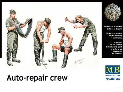 Masterbox *Auto-Repair Crew* - Scale 1/35 - Masterbox - MBLTD3582