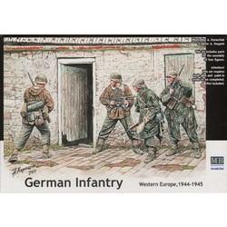 *German Infantry. Western Europe. 1944-1945* - Scale 1/35 - Masterbox - MBLTD3584