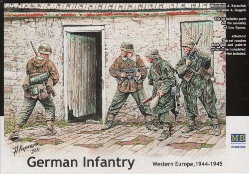 Masterbox *German Infantry. Western Europe. 1944-1945* - Scale 1/35 - Masterbox - MBLTD3584