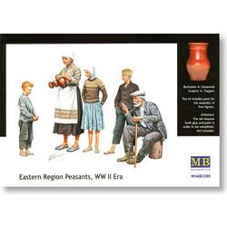 *Eastern Region Peasants, WW II era* - Scale 1/35 - Masterbox - MBLTD3588