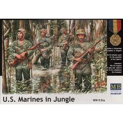 *U.S. Marines in Jungle, WW II era* - Scale 1/35 - Masterbox - MBLTD3589