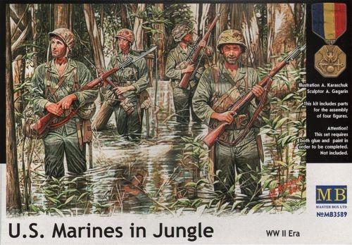 Masterbox *U.S. Marines in Jungle, WW II era* - Scale 1/35 - Masterbox - MBLTD3589