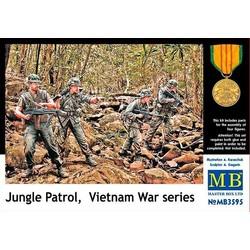 *Jungle Patrol, Vietnam War series* - Scale 1/35 - Masterbox - MBLTD3595