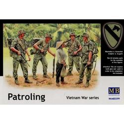 *Patroling. Vietnam War series* - Scale 1/35 - Masterbox - MBLTD3599