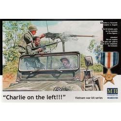 *Charlie on the left!!! Vietnam war kit series* - Scale 1/35 - Masterbox - MBLTD35105