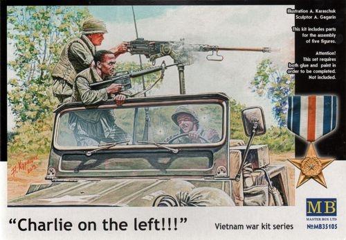 Masterbox *Charlie on the left!!! Vietnam war kit series* - Scale 1/35 - Masterbox - MBLTD35105