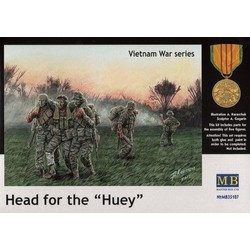 *Head for the *Huey*, Vietnam War series* - Scale 1/35 - Masterbox - MBLTD35107