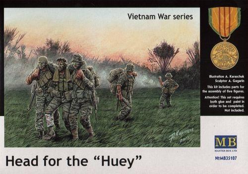 Masterbox *Head for the *Huey*, Vietnam War series* - Scale 1/35 - Masterbox - MBLTD35107