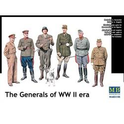 *The Generals of WW II era* - Scale 1/35 - Masterbox - MBLTD35108