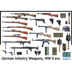 *German Infantry Weapons, WW II era* - Scale 1/35 - Masterbox - MBLTD35115
