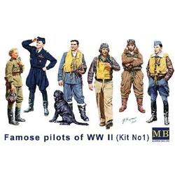 *Famous pilots of WWII era*, kit No.1* - Scale 1/32 - Masterbox - MBLTD3201