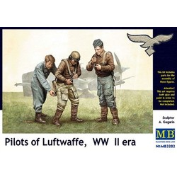 *Pilots of Luftwaffe, WW II era* - Scale 1/32 - Masterbox - MBLTD3202