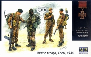 Masterbox British Commandos - Scale 1/35 - Masterbox - MBLTD3512