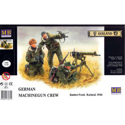 German Machine Gunners Eastern Front 1944 - Scale 1/35 - Masterbox - MBLTD3526