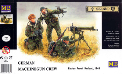 Masterbox German Machine Gunners Eastern Front 1944 - Scale 1/35 - Masterbox - MBLTD3526