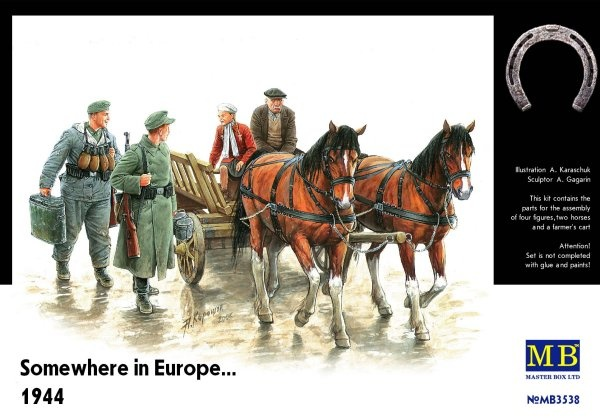 Masterbox Somewhere In Europe 1944 - Scale 1/35 - Masterbox - MBLTD3538