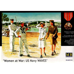 Women At War, US Navy WAVES - Scale 1/35 - Masterbox - MBLTD3556