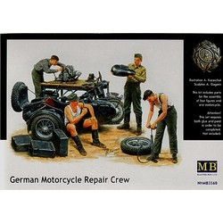German Motorcycle Repair Team - Scale 1/35 - Masterbox - MBLTD3560