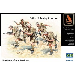 North Africa, 1941-1943 Desert Battles Kit 2 - Scale 1/35 - Masterbox - MBLTD3580