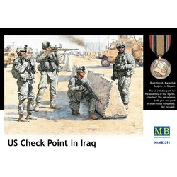 US Check Point in Iraq - Scale 1/35 - Masterbox - MBLTD3591