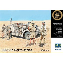 LRDG In North Africa, WWII - Scale 1/35 - Masterbox - MBLTD3598