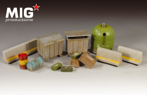 Mig Productions Modern City Set - Scale 1/35 - Mig Productions - MIG35-100
