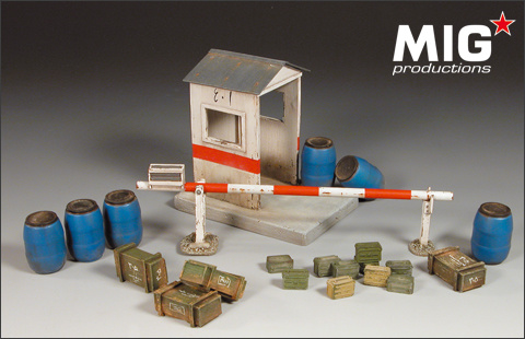Masterbox Checkpoint Set - Scale 1/35 - Mig Productions - MIG35-104