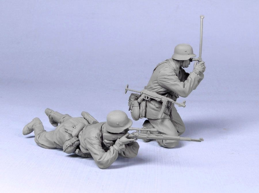 Tank! German Snipers SS 1943-45 - Scale 1/35 - Tank! - TNK35116