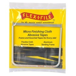 Micro Finish Cloth Abrasive Tapes - Flex-i-File - FLE15129