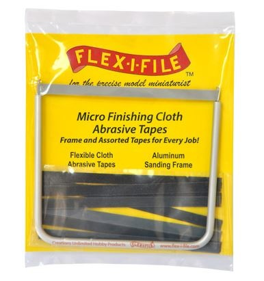 Flex-i-File Micro Finish Cloth Abrasive Tapes - Flex-i-File - FLE15129