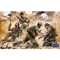 *Danger Close*. Special Operations Team, Present Day - Scale 1/35 - Masterbox - MBLTD35207