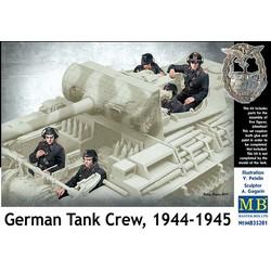 *German Tank Crew, 1944-1945* - Scale 1/35 - Masterbox - MBLTD35201