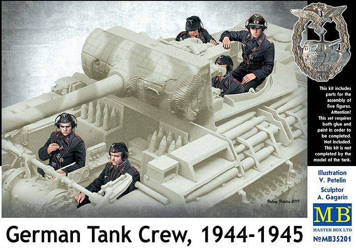 Masterbox *German Tank Crew, 1944-1945* - Scale 1/35 - Masterbox - MBLTD35201