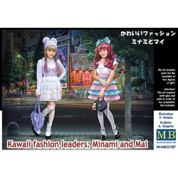 *Kawaii fashion leaders. Minami and Mai* - Scale 1/35 - Masterbox - MBLTD35187