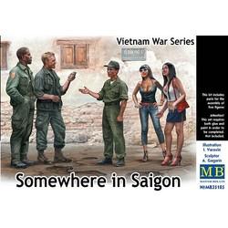 *Somewhere in Saigon, Vietnam War Series* - Scale 1/35 - Masterbox - MBLTD35185