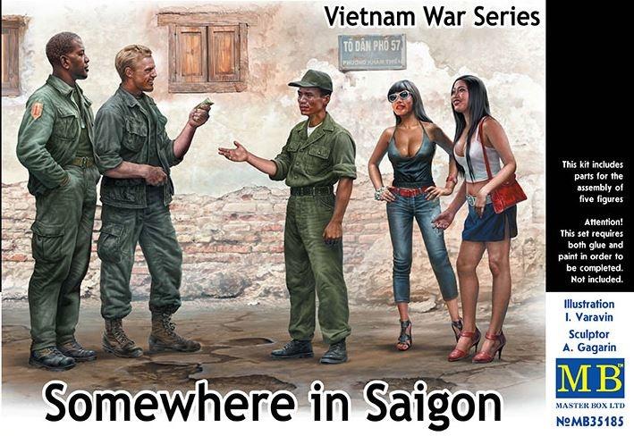Masterbox *Somewhere in Saigon, Vietnam War Series* - Scale 1/35 - Masterbox - MBLTD35185