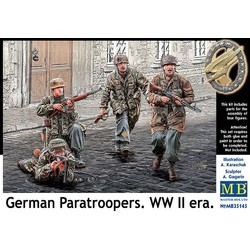 *German Paratroopers. WW II era* - Scale 1/35 - Masterbox - MBLTD35145