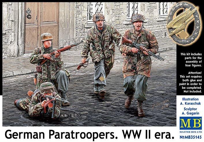 Masterbox *German Paratroopers. WW II era* - Scale 1/35 - Masterbox - MBLTD35145