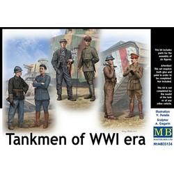 *Tankmen of WWI era* - Scale 1/35 - Masterbox - MBLTD35134