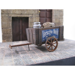 Small Hand Cart - 8 resin pcs.incl. various accessoiries - Reality in Scale - RIS 35152